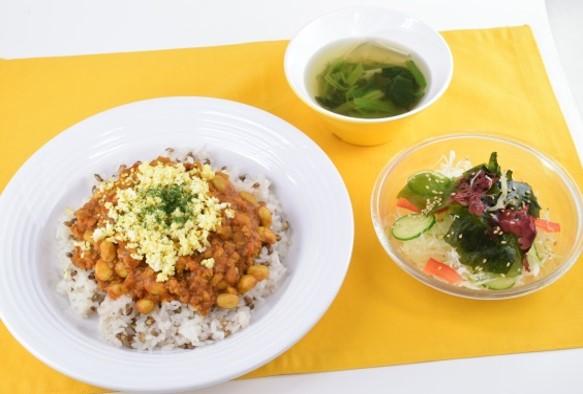 大豆と根菜のトマトドライカレーセット